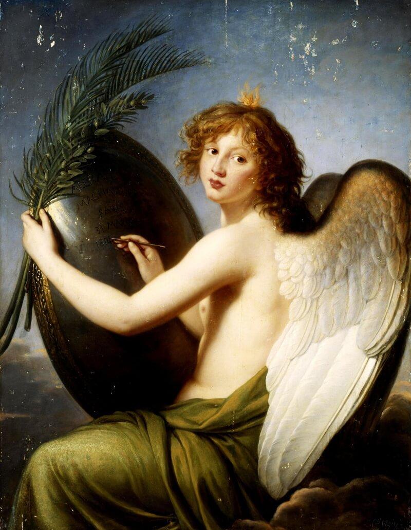 Элизабет Виже-Лебрен «Гений Александра I», Франция, 1814 год