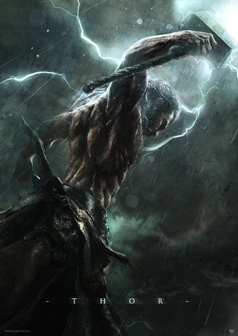 Гнева Тора боялись даже боги