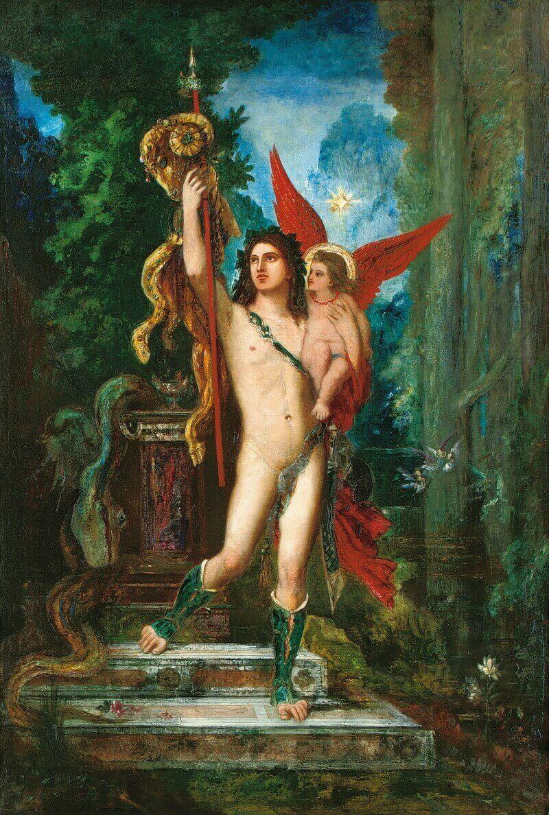 Гюстав Моро «Ясон и Эрос», 1891 год