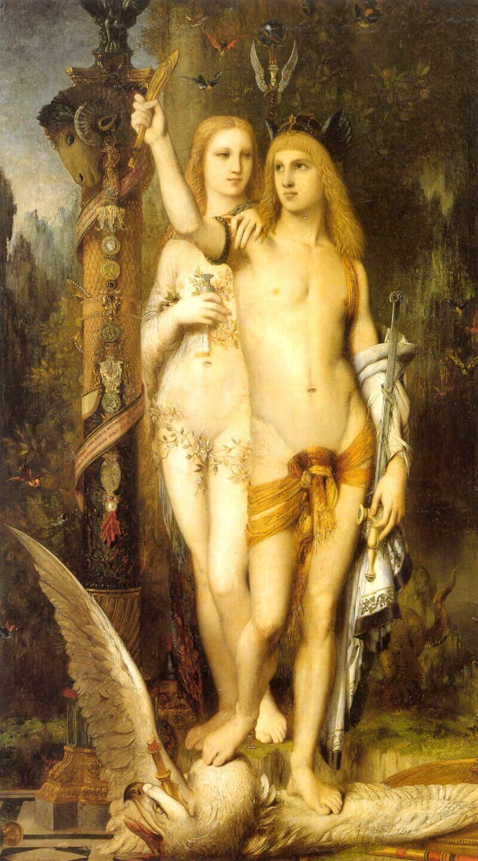 Гюстав Моро «Ясон и Медея», 1865 год