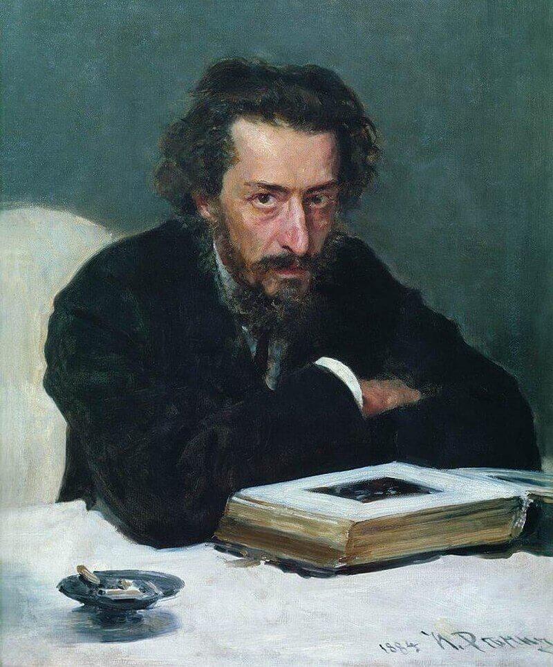 Илья Репин «Портрет Бларамберга», не является этюдом к картине