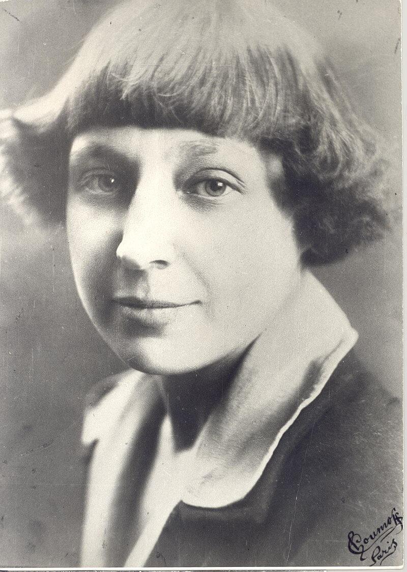 Марина Ивановна Цветаева в 1925 году