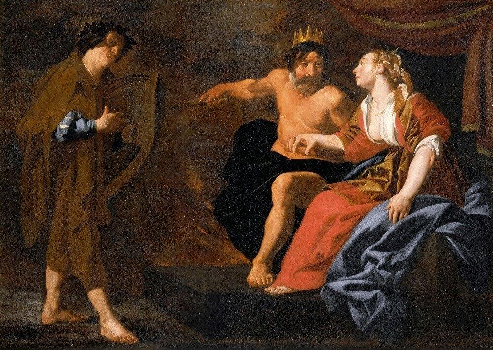 Орфей перед Плутоном и Прозерпиной