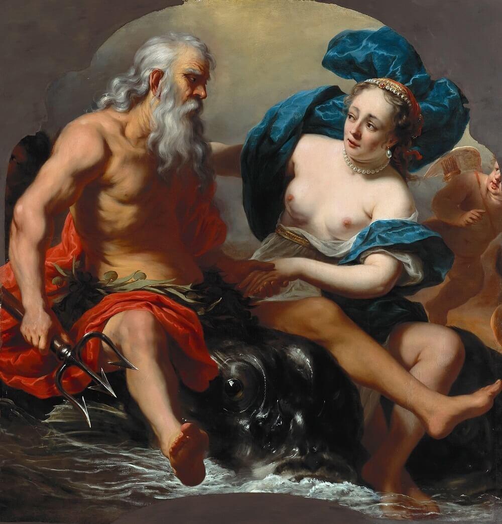 Фердинанд Боль «Посейдон и Амфитрита», 1661-1663 годы