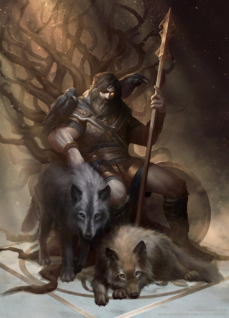 Один всеотец на троне