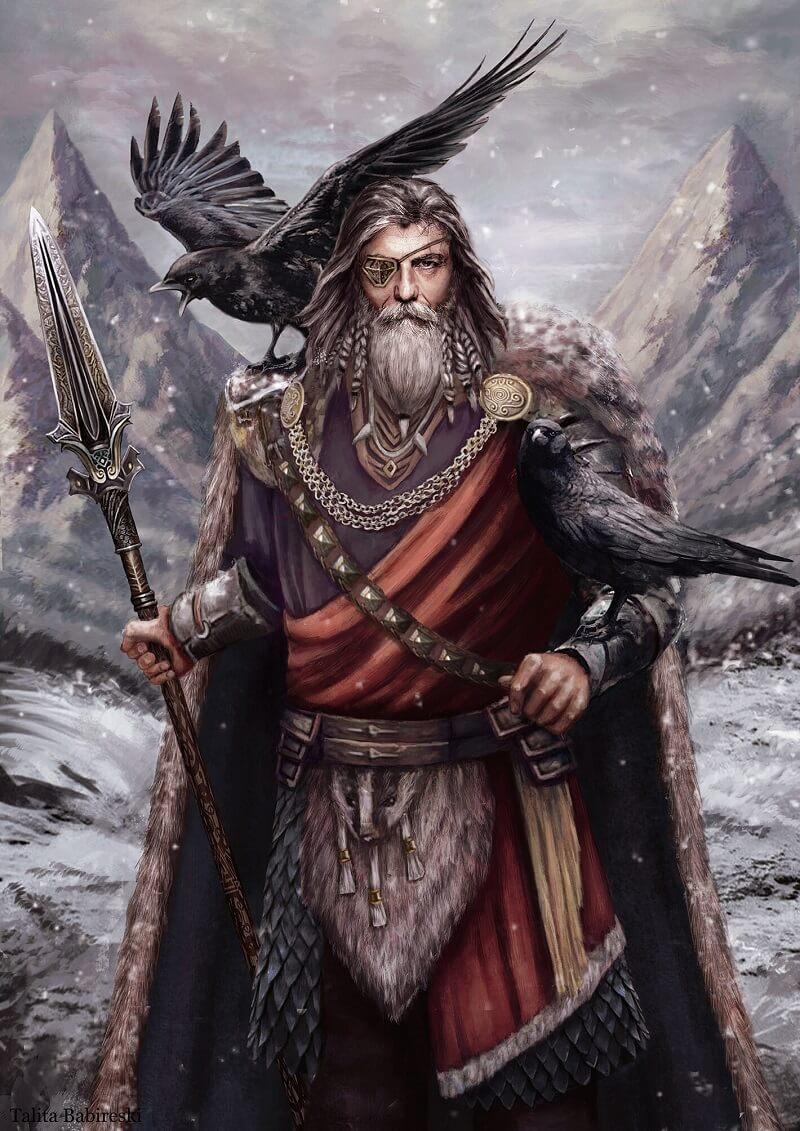Один - почему главный бог скандинавов потерял свой глаз?