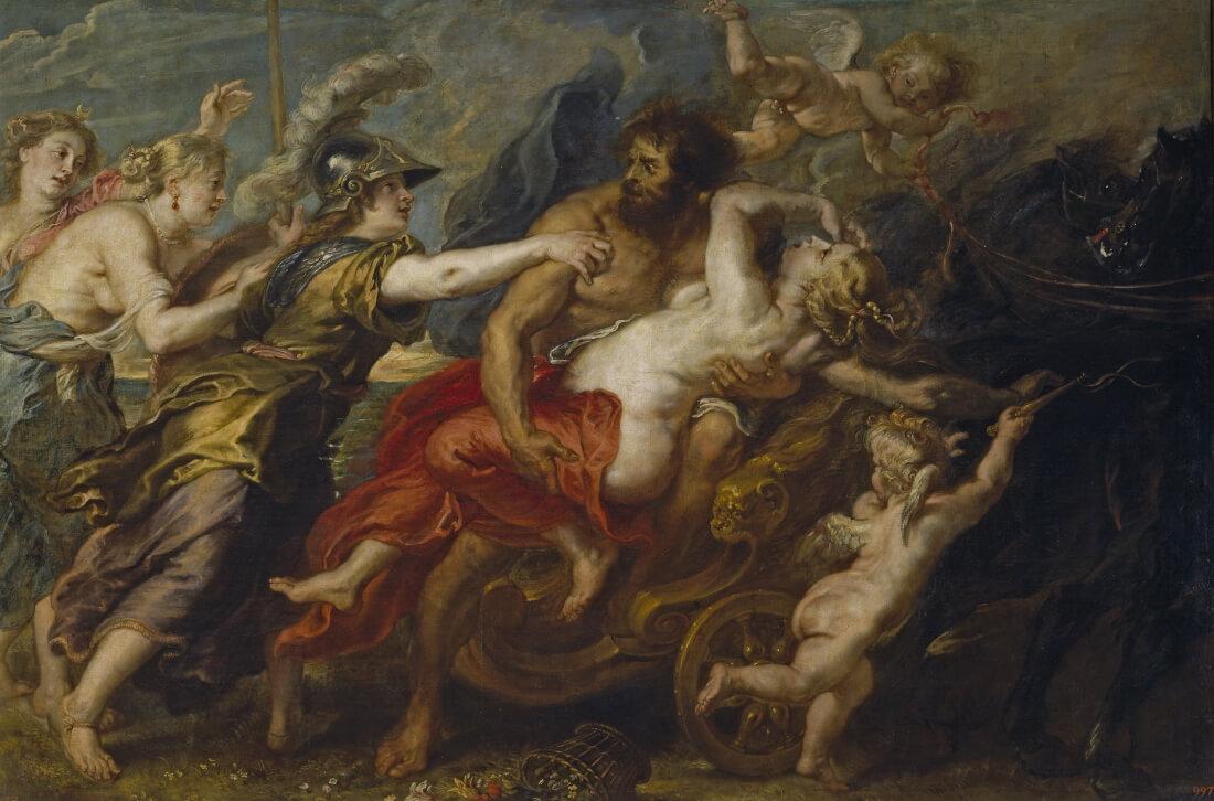 Питер Пауль Рубенс (и мастерская) «Похищение Прозерпины», 1636-1637 годы