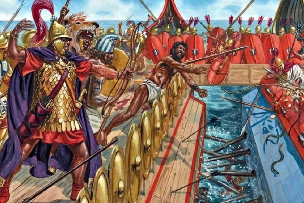 Рим отнимает Корсику у Карфагена нарушив мирный договор