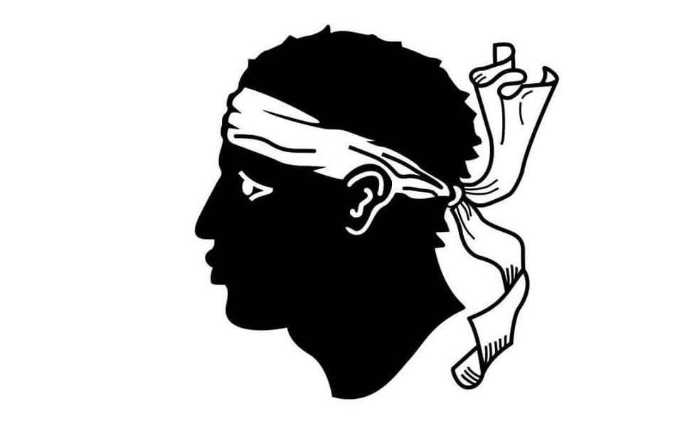 Символ и флаг корсиканской республики
