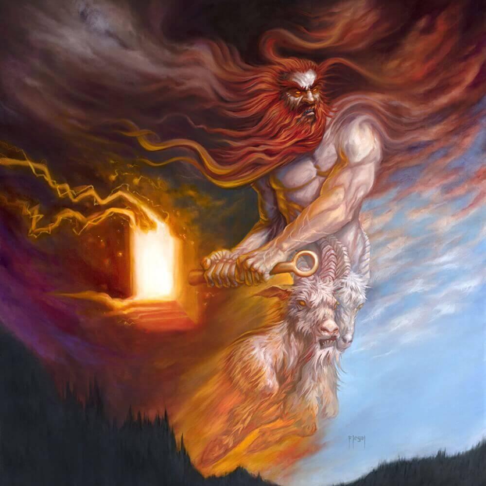 Тор бог грома и огня / © Sam Flegal