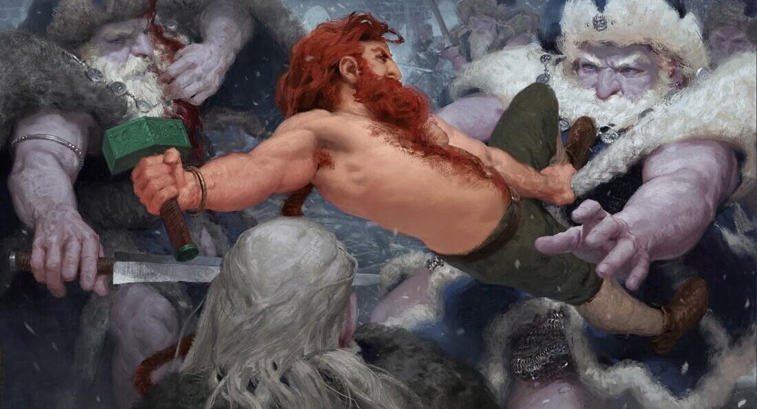 Тор — бог с ярко-рыжими волосами / © Torgeir Fjereide