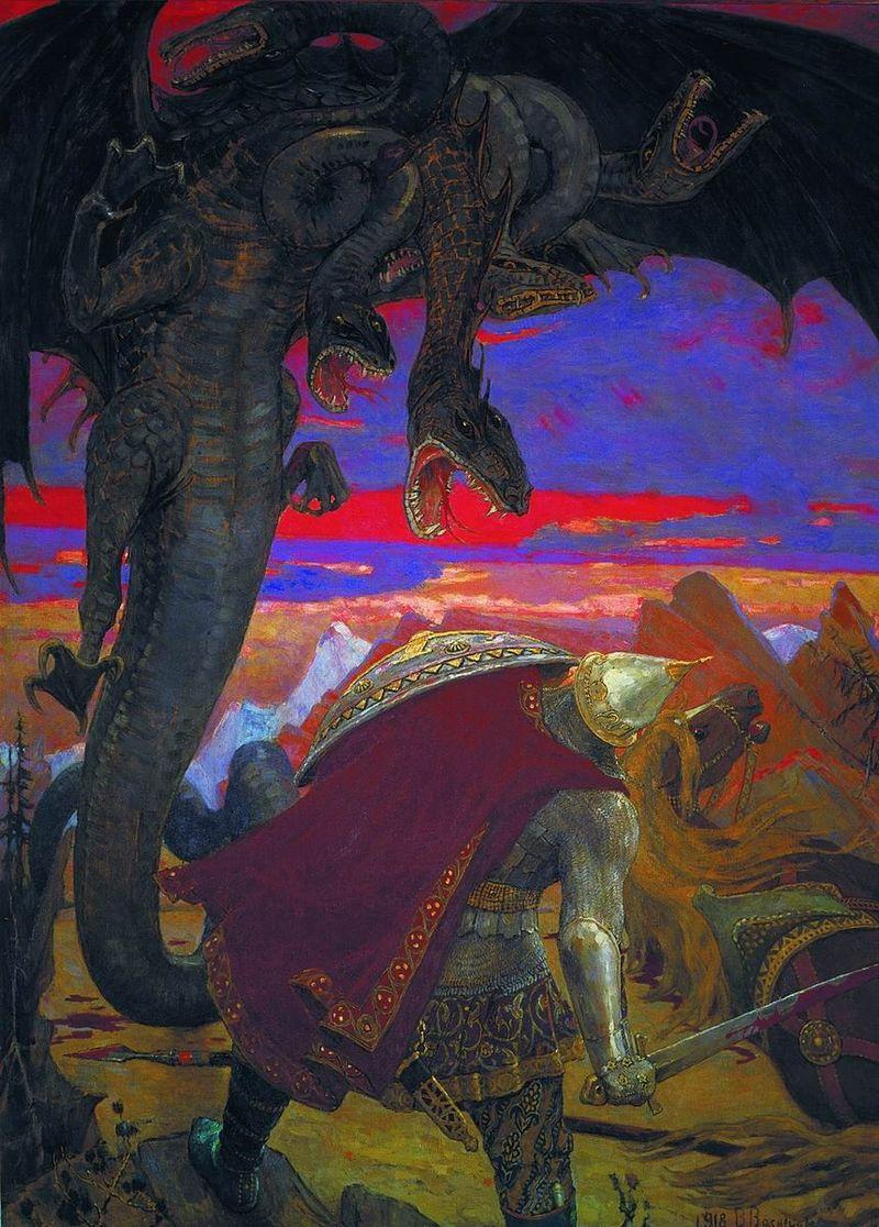 Единоборство со Змеем Горынычем