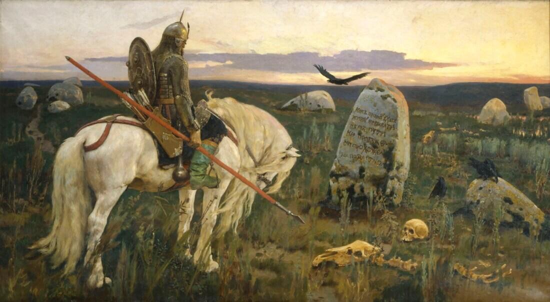 «Витязь на распутье» — картина Виктора Васнецова