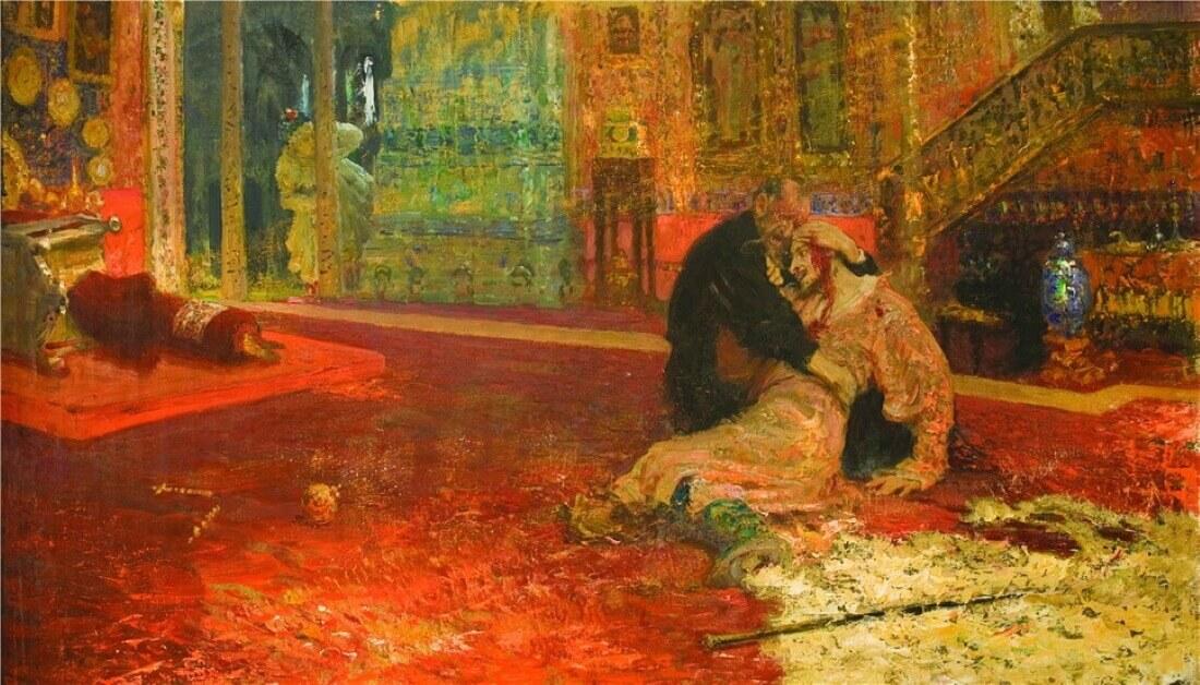 Вторая версия картины «Иван Грозный убивает своего сына»