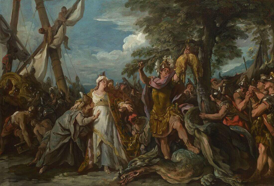 Жан-Франсуа де Труа «Ясон овладел золотым руном», 1742 год