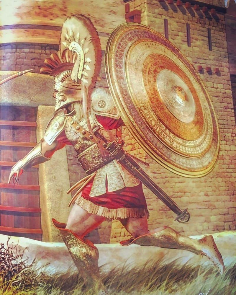 Ахейский воин