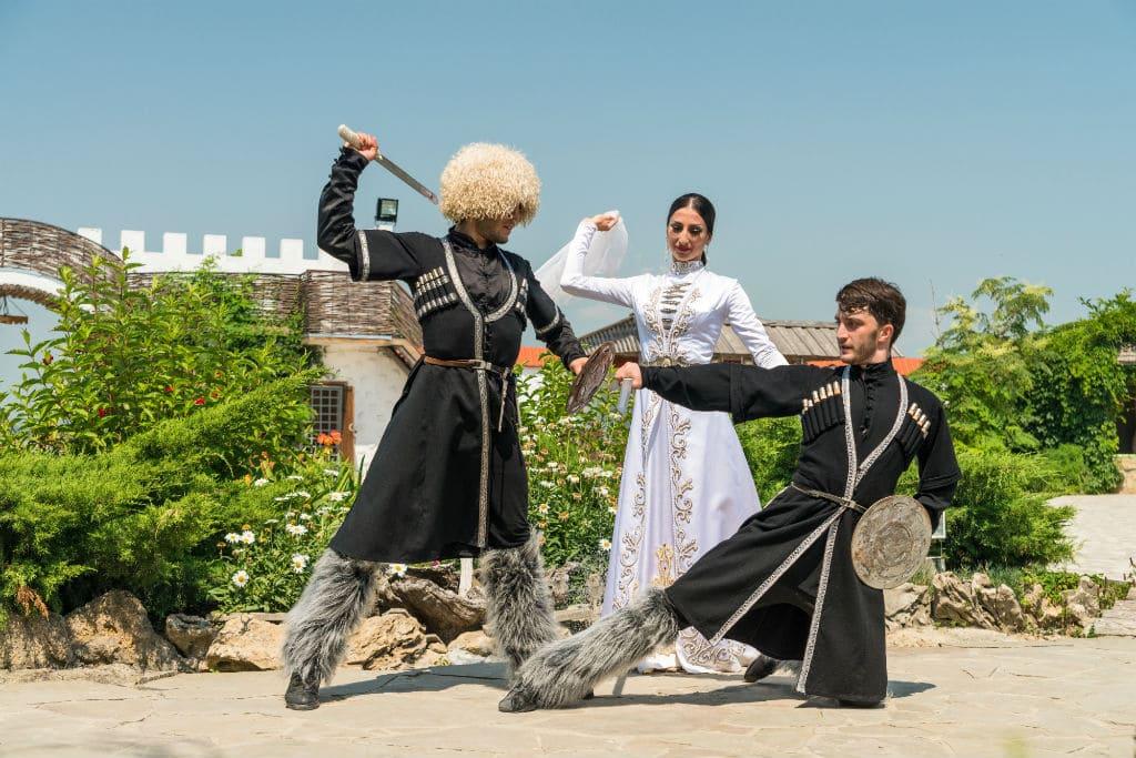 Черкесские традиции порой воинственны