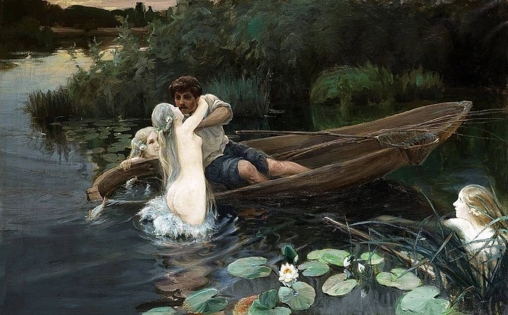 Дженеев И. А. «Водные глубины. Омут» 1907 год
