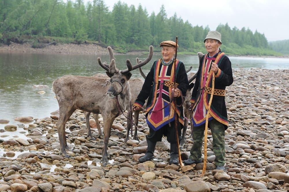 Эвенки в Сибири
