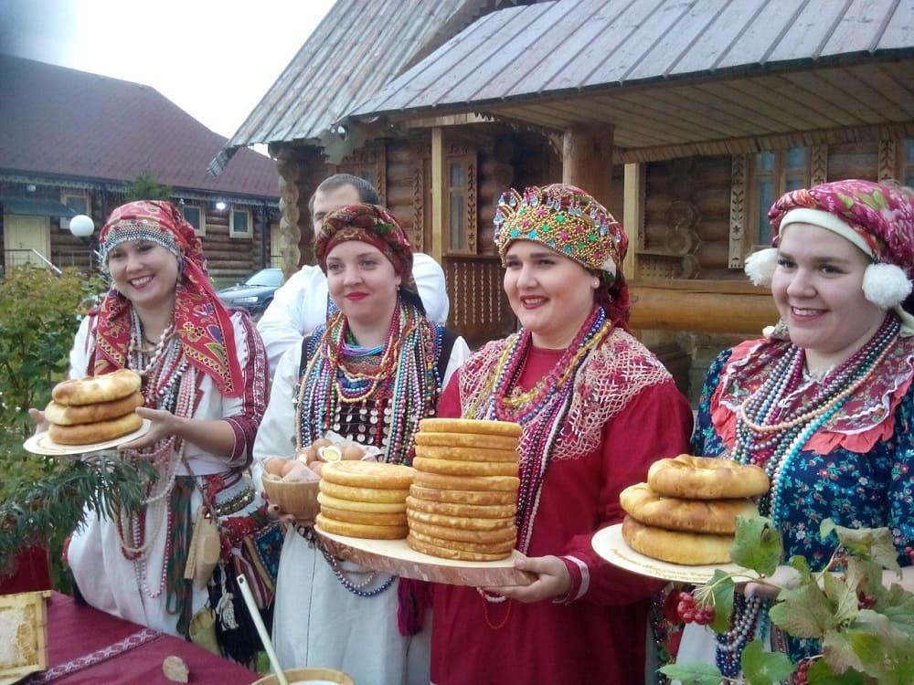 А ещё мокша любят мордовские блины Падчада они обычно очень пышные / mordoviatv.ru