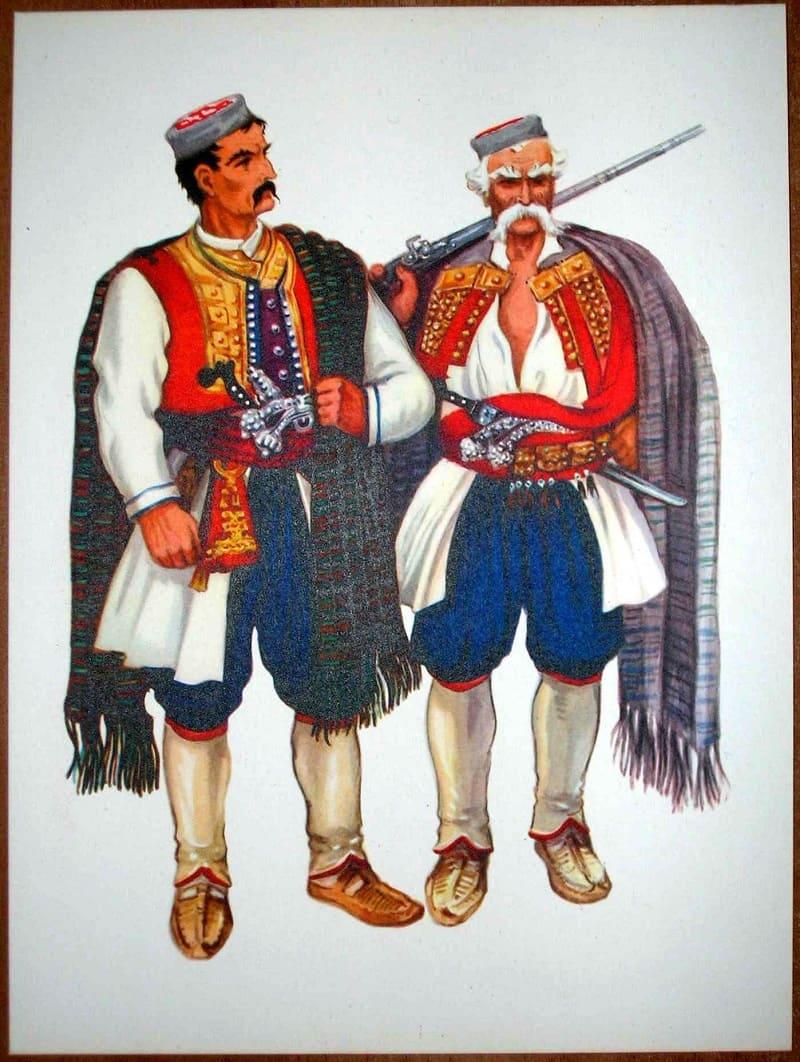 Традиционный костюм черногорцев