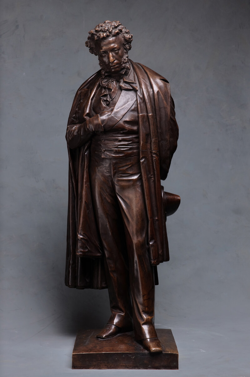 А. М. Опекушин «Модель памятника А.С. Пушкину в Москве», 1875 год