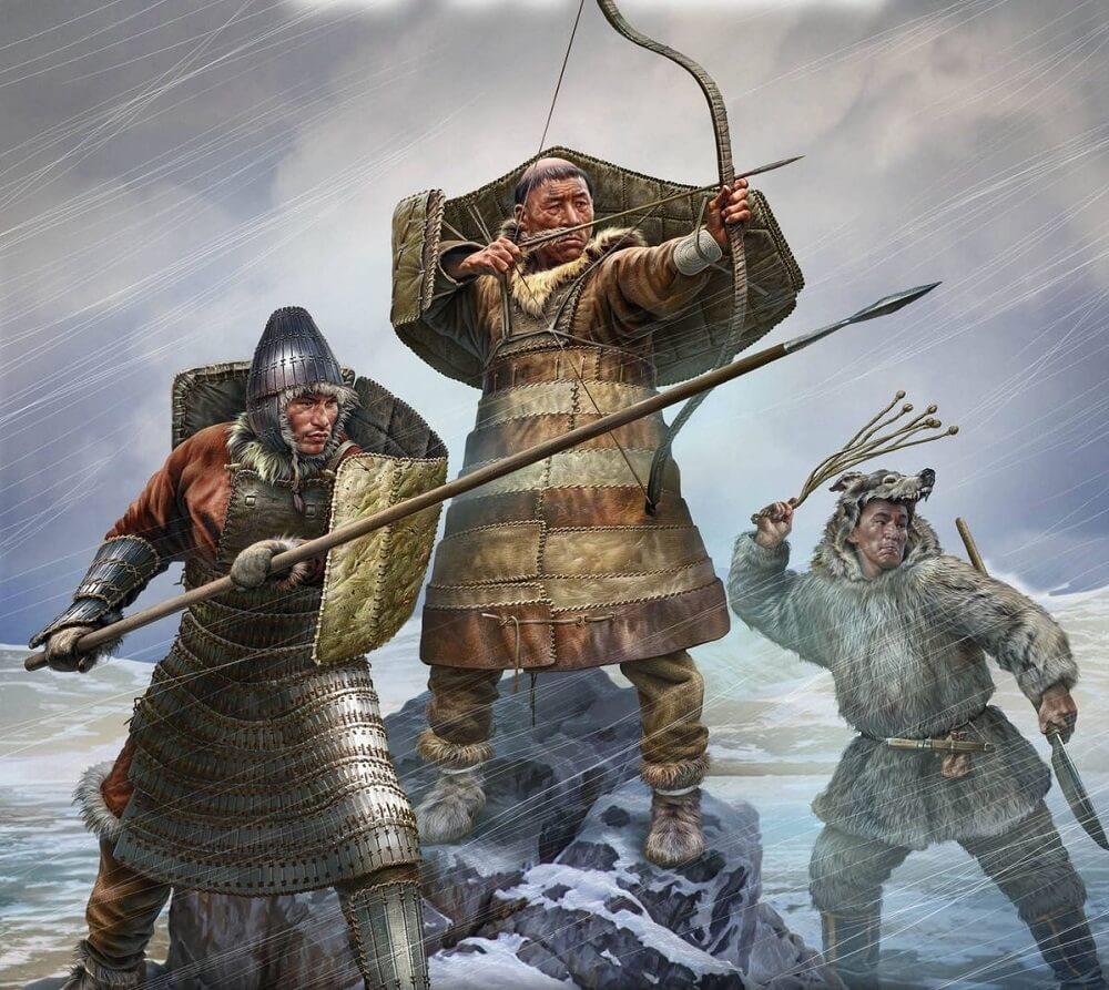 Чукчи воины