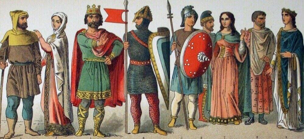 Французы около 900 года н.э