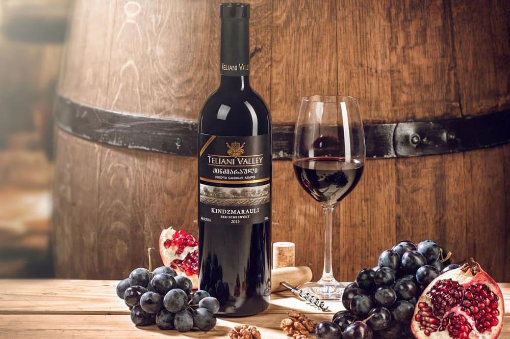 Грузинское вино Киндзмараули ну очень вкусное