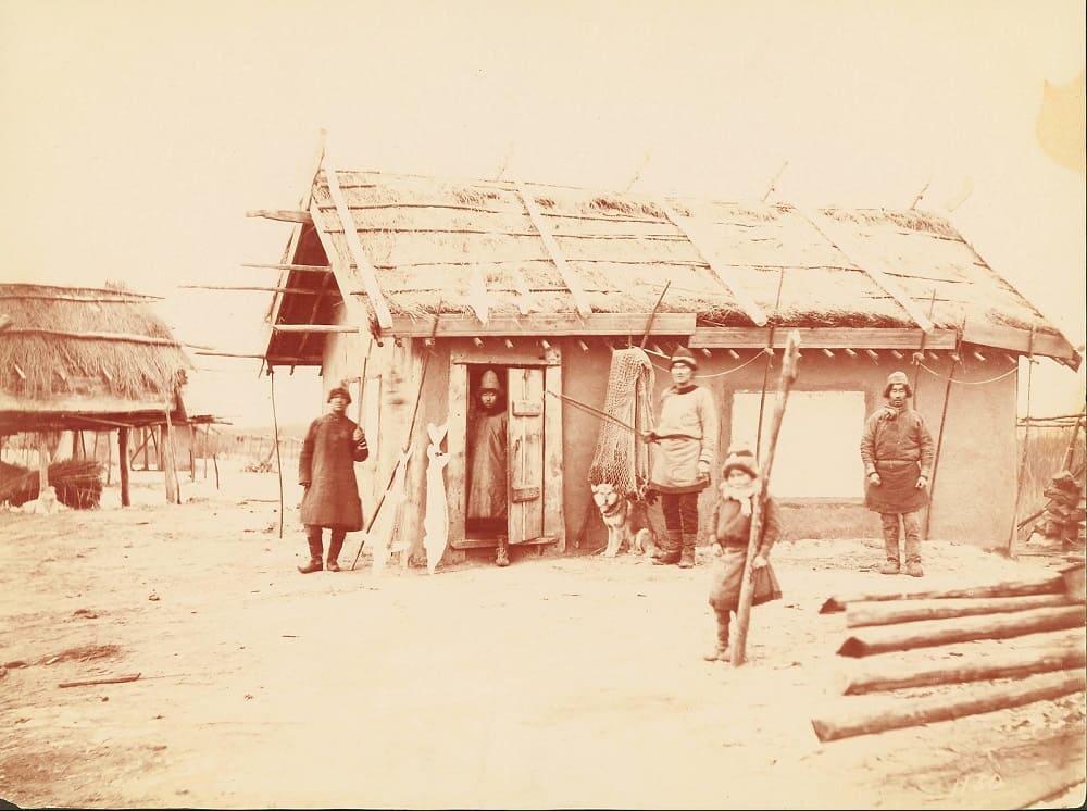 Хагдун, фото из путешествия Уильям Генри Джексона, 1895 год