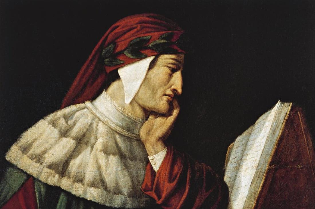 Итальянский поэт Данте Алигьери
