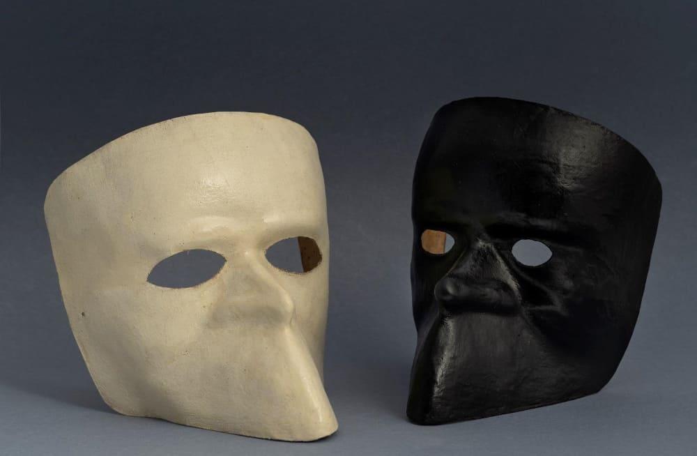 Карнавальные маски «ларва», вторая половина XVIII века