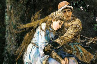 Картина «Иван-царевич на Сером Волке»