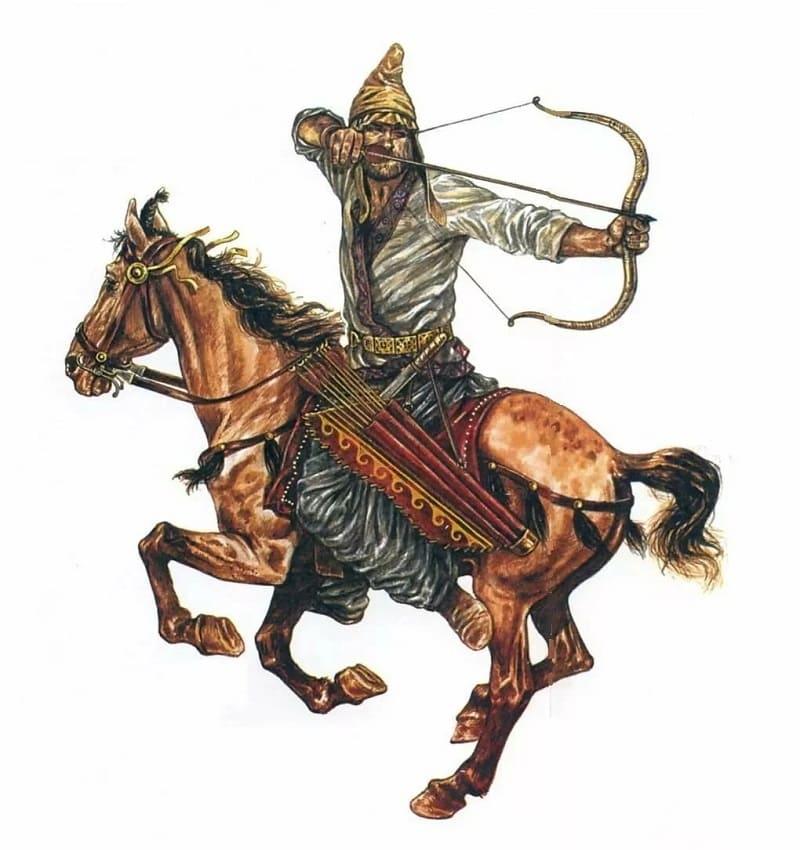 Киммериец на коне