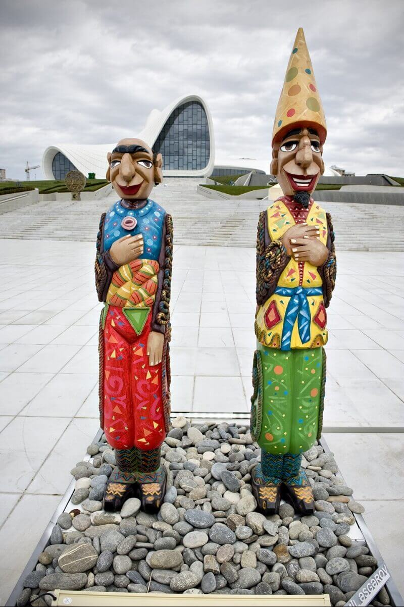Коса и Кечал - персонажи народных преданий Азербайджанцев