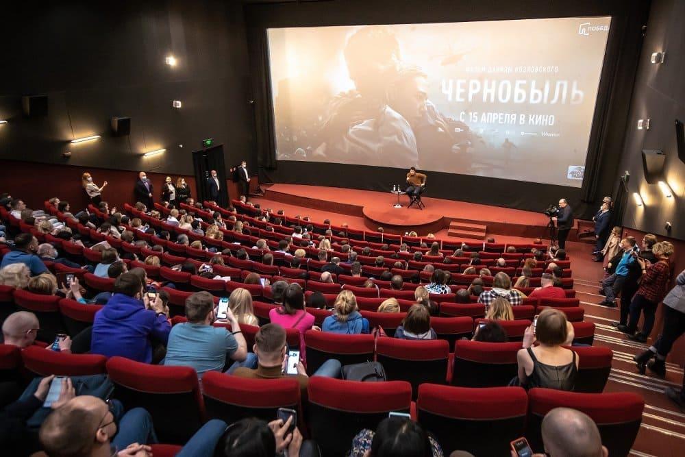 Козловский на показе своего фильма