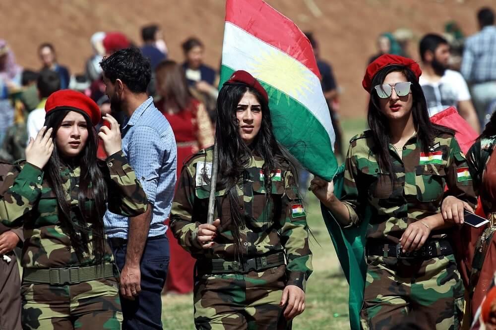 Курдская Пешмерга