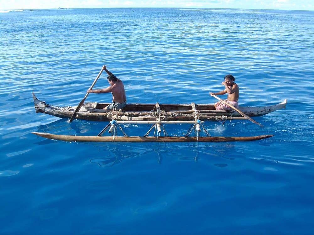 Микронезийские рыбаки