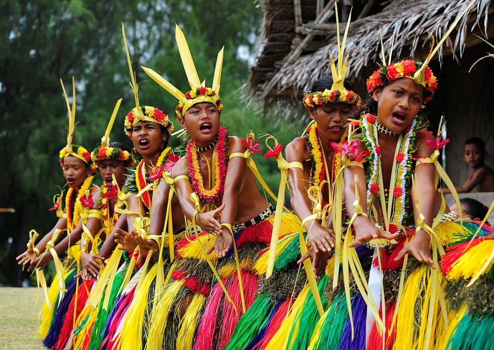 Микронезийцы ритуал