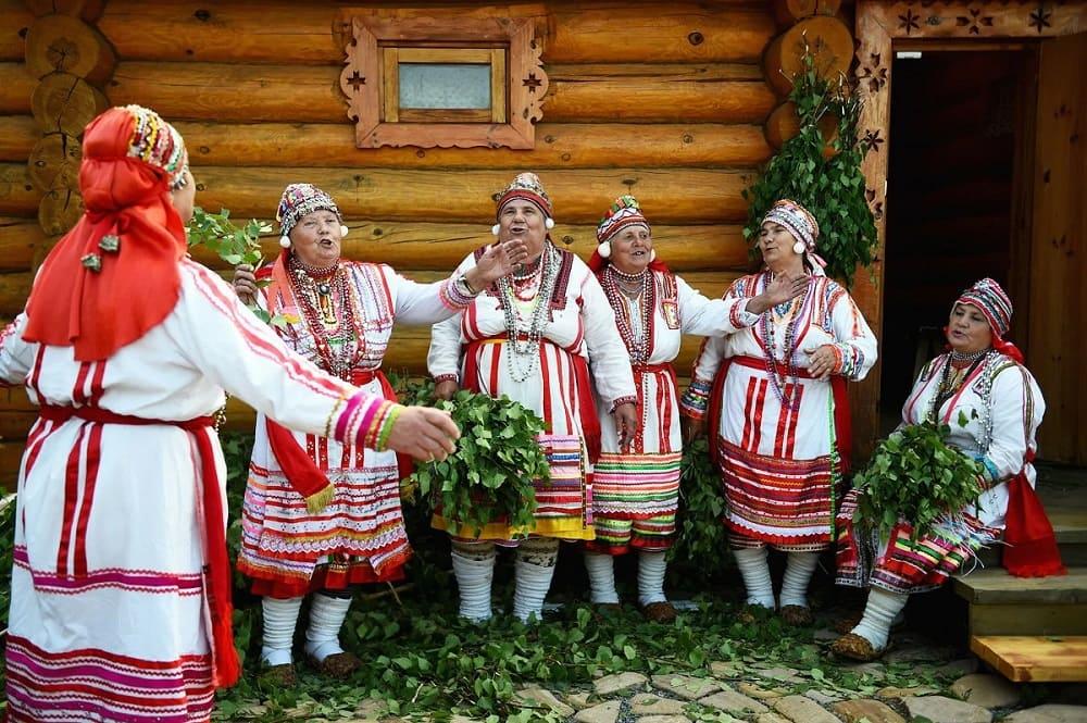 Девичья баня свадебный обряд мордвы