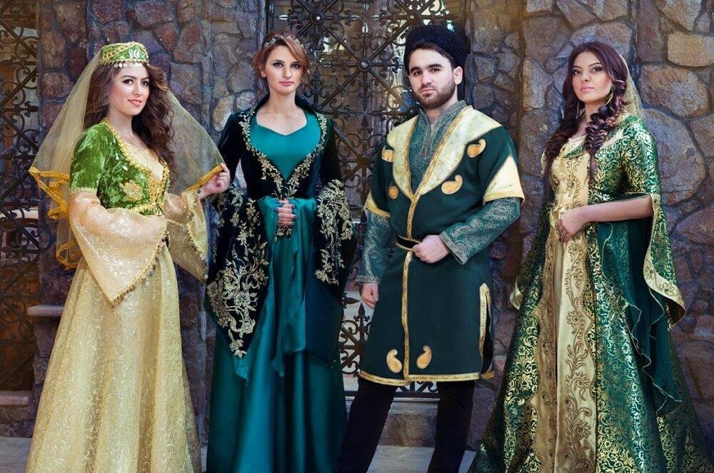 Национальный костюм азербайджанцев