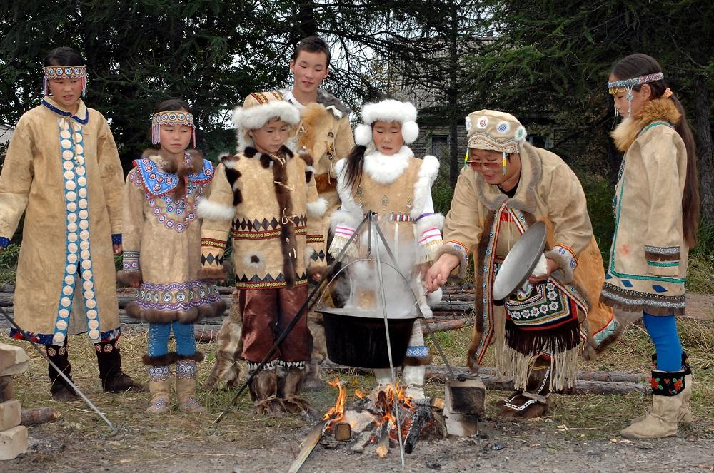 Национальный костюм нанайцев