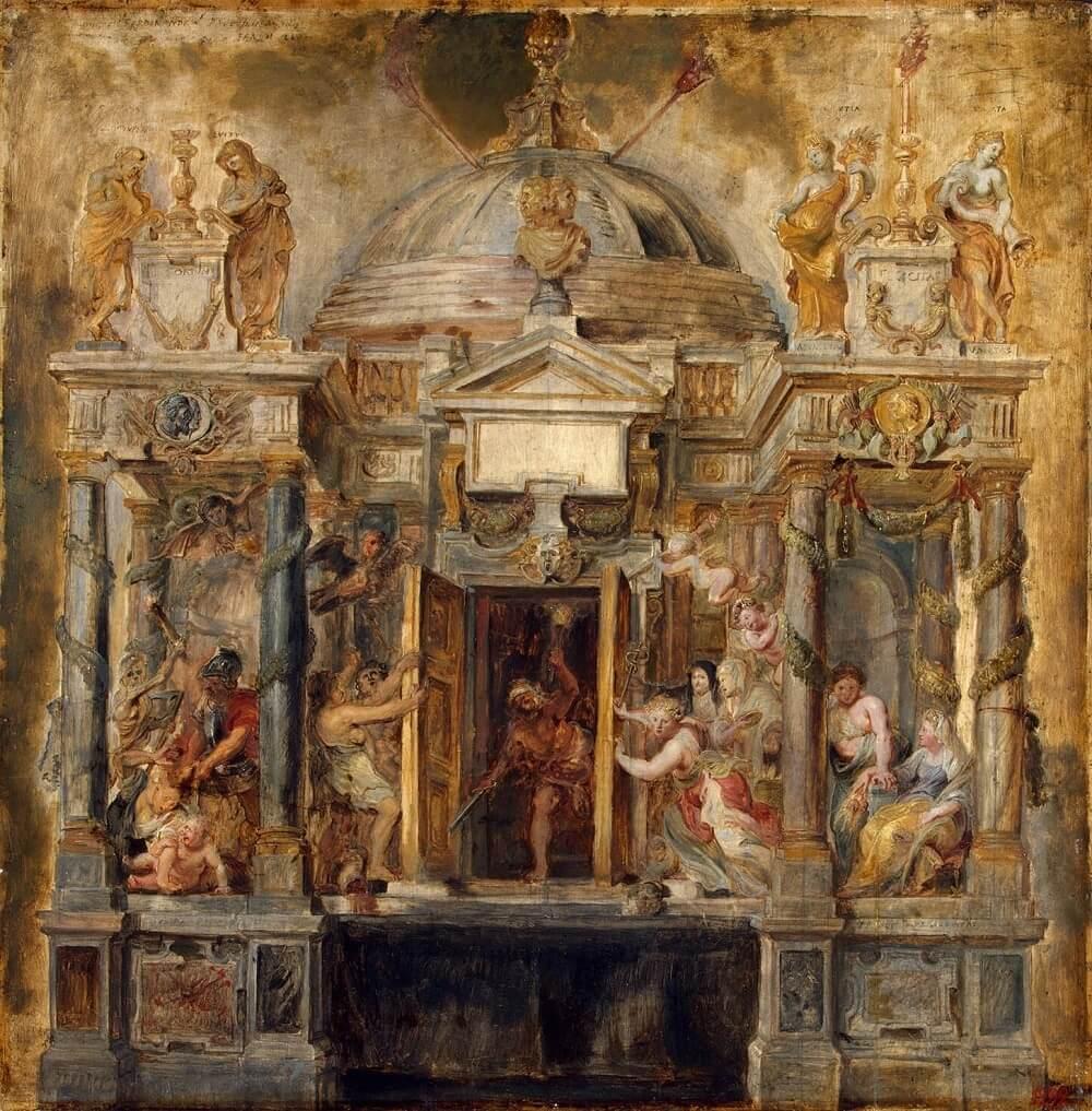 Картина Храм Януса