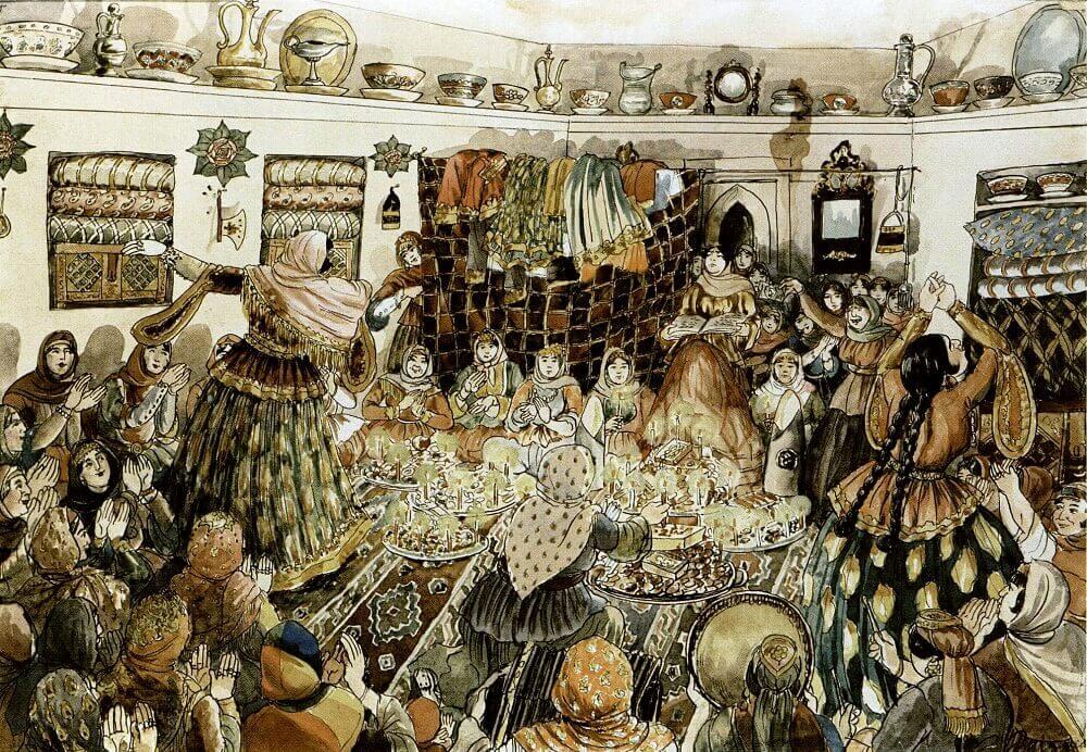 Традиции азербайджанцев - тайны чаепития и праздничные комики