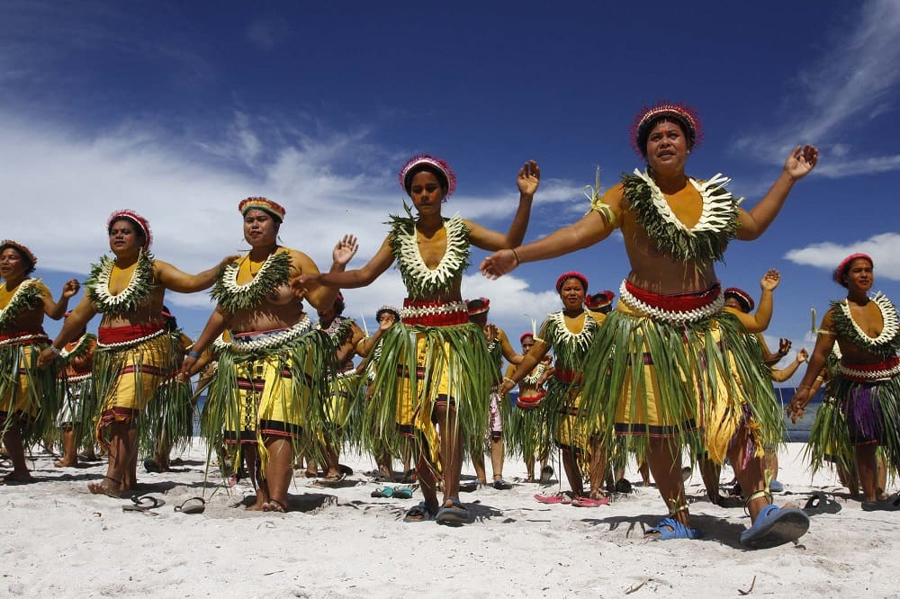 Танец микронезийцев
