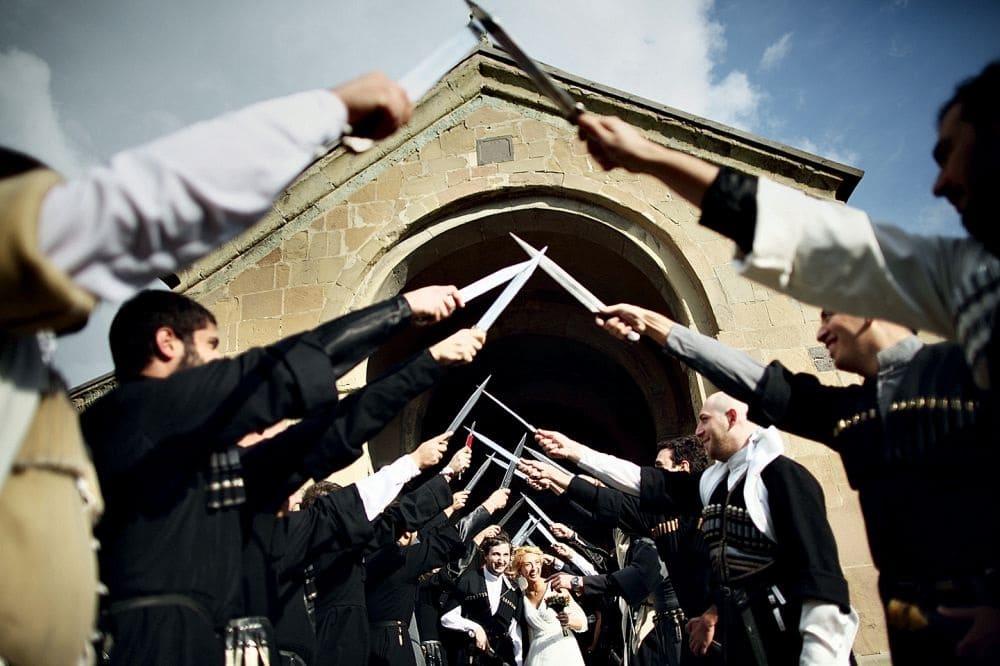 Традиция грузинской свадьбы