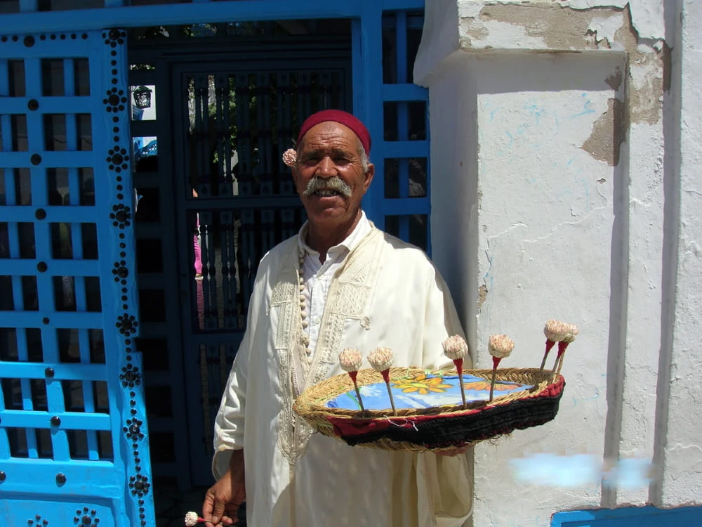Тунисцы и жасмин неразлучны