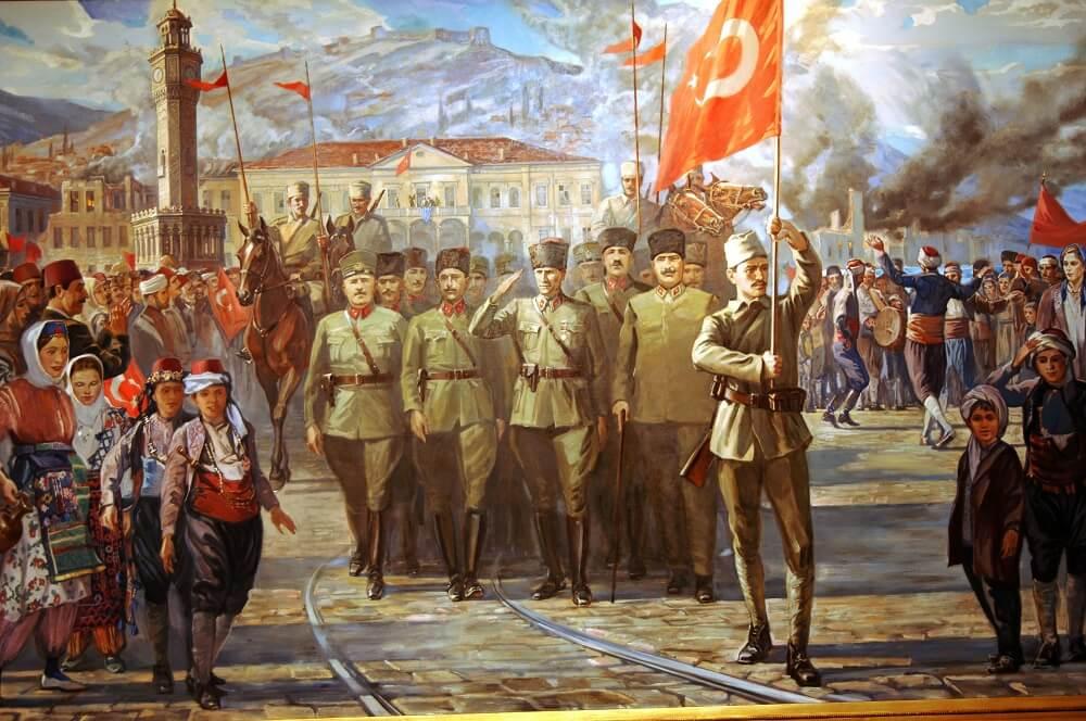 Вход Турецкой Армии В Измир 1922
