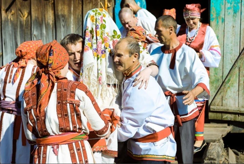 Свадебная традиция мордвы - забирание невесты / penza-press.ru