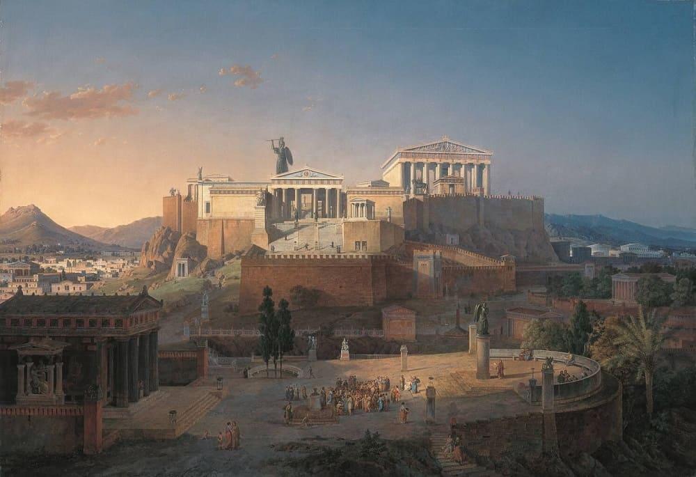 Древние Афины / © Leo von Klenze / Wikimedia Commons